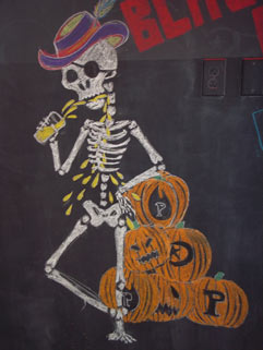 Downtown Halloween Art