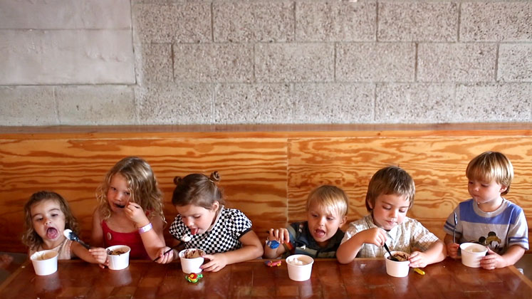 Kids & Ice Cream